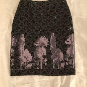 Gorgeous Eva Franco Burnout pencil skirt 2